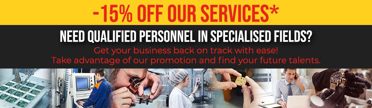 Offre sur nos services